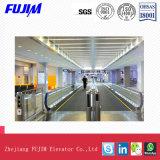 El paso ancho 600mm~1000mm de mover a pie de acera Transportador de pasajeros