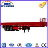 3つの車軸が付いている13.3mのサイドボードの貨物トラックのトレーラー