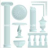 El blanco talla la columna romana (DES-D3)