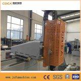 교련 PVC 알루미늄 단면도를 위한 센터 가공