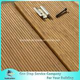 Quarto de bambu pesado tecido 17 da casa de campo do revestimento do Decking costa ao ar livre de bambu