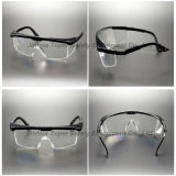 Verres de sûreté en nylon réglables d'oeil de lentille de PC de bâti (SG113)