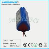 3.7V 9ah 18650 Batterie-Lithium-Ionenbatterie mit PCM