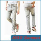 Men Grey Straight Leg Casual Pants (JC3023)