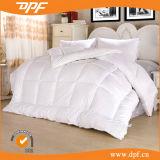 Кровать размера кинг отель Роскошный белый вниз перья заполнение одеялом вставить
