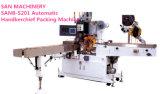 Cadena de producción del pañuelo plegamiento del pañuelo de la máquina y empaquetadora