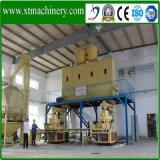 5 ton/h, la norma ISO/CE de la línea de producción de pellets de madera para la Biomasa Fire
