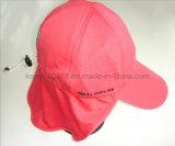 Мода100%хлопок воздуха Red Hat с помощью кнопки (DH-LH62723)