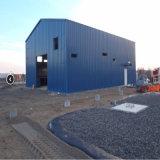 La construcción de prefabricados de estructura de acero Taller