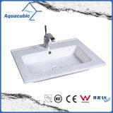 Einteiliges Badezimmer-Bassin und Countertop-Wanne (ACB1601)