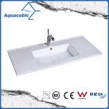 Cuenca de cuarto de baño de una pieza de la encimera y fregadero (ACB1601)