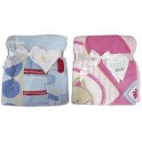 Velo Coral cobertores impresso do bebé