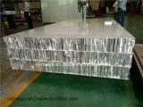 Panneaux en aluminium anodisés de nid d'abeilles de fini
