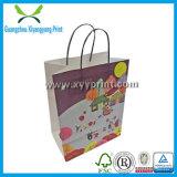Vente en gros de papier de luxe promotionnelle faite sur commande de sac à provisions
