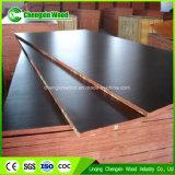Prensa caliente impermeable Laminado Negro Rodada Marina madera contrachapada
