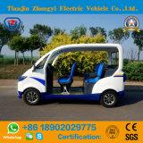 Carro de patrulha elétrico do polícia dos assentos novos do tipo 4