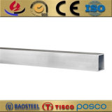 6082 6061 6063 de grand diamètre tuyau rectangulaire en aluminium anodisé
