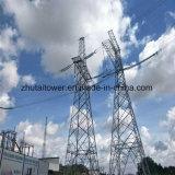 Torretta d'acciaio galvanizzata per la trasmissione di corrente elettrica