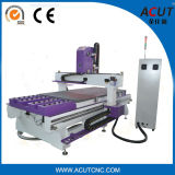 Puerta que hace máquina China el nuevo ranurador del CNC del Atc con 16 herramientas Acut-2513