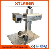 Fibra 10W, 20W, 30W, máquina portable de la marca del metal del laser 50W para el oro de 1m m, cobre, latón