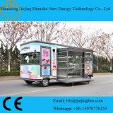De commerciële Vrachtwagen van de Straat voor het Verkopen van Kleine Punten met Ce