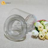 3oz de duidelijke Kruik van het Glas met Deksel