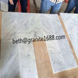 a forma marmoreia as pedras de mármore brancas e cinzentas, preço de mármore branco da telha