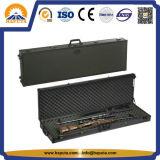 Étui à fusil tactique noir Boîte de transport des armes à feu avec de la mousse (HG-1508)