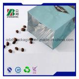 Мешок упаковки застежки -молнии кофейного зерна Gusset алюминиевой фольги бортовой с клапаном