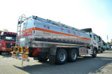 HOWO de Vrachtwagen van de Tanker van de Legering van het Aluminium van 20 T de Tankwagen van de Brandstof van 25000 L voor Verkoop