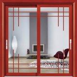 알루미늄 정문은 석쇠를 가진 상업적인 유리 미닫이 문을 만든다