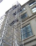 Profil en aluminium de construction pour les structures et de décoration