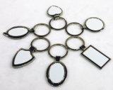 Presentes de moda Linha de zinco em branco Sublimação Chaveiro de metal