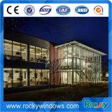 Terremoto anti muro cortina de vidrio con estructura de acero