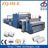 Máquina automática del papel higiénico (rodillo de tocador de Deco, ZQ-III-E)