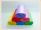 HDPE Drawstring-Plastikabfall-Beutel/Krankenhaus-überschüssige Beutel