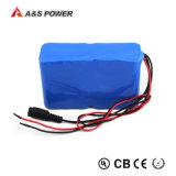 Batterie du constructeur 12V 60ah LiFePO4 de lithium de Rechargeanle avec le cas