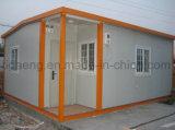Casa pré-fabricada à prova de fogo da construção conveniente do preço de fábrica