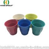 7oz Cup componible vajillas de plástico biodegradables de taza de café de fibra de bambú