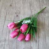 Дешевые букеты цветка тюльпана искусственного шелка он-лайн