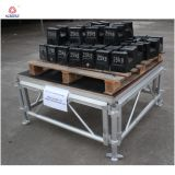 Furnierholz-bewegliche Stadiums-im Freienleistungs-Aluminiumstadium justierbar