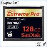 大きい容量のコンパクトのフラッシュ128GBカリホルニウムのメモリ・カード(128GBカリホルニウム)
