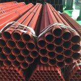 Tubo d'acciaio Sch40 Sch10 dell'UL di protezione antincendio del nero approvato del tubo