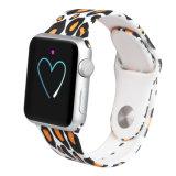 卸し売りカスタム印刷のロゴのAppleのための多彩なシリコーンの時計バンド