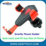 Teléfono móvil de la Gravedad Universal Soporte Soporte de ajuste automático y bloqueo para los teléfonos