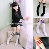 Pé de socks tricotado personalizado de meias de Nylon Boy palmilha de tubo para crianças