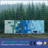Studio décoratif en laine de bois Panneau mural acoustique en matériaux de construction