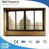 Dernière conception métal bon marché Double vitrage vitre coulissante en aluminium