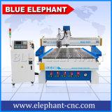 Ranurador de talla de madera del CNC de la máquina Ele1337 del CNC de China para la venta de madera de la puerta de cabina de cocina