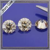 관여된 반지를 위한 도매에 의하여 Moissanite 착색되는 합성 다이아몬드